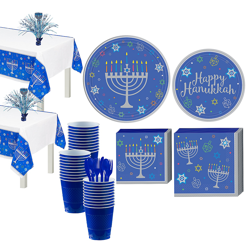 Eight Happy Nights Party Kit for 36 Guests Image #1