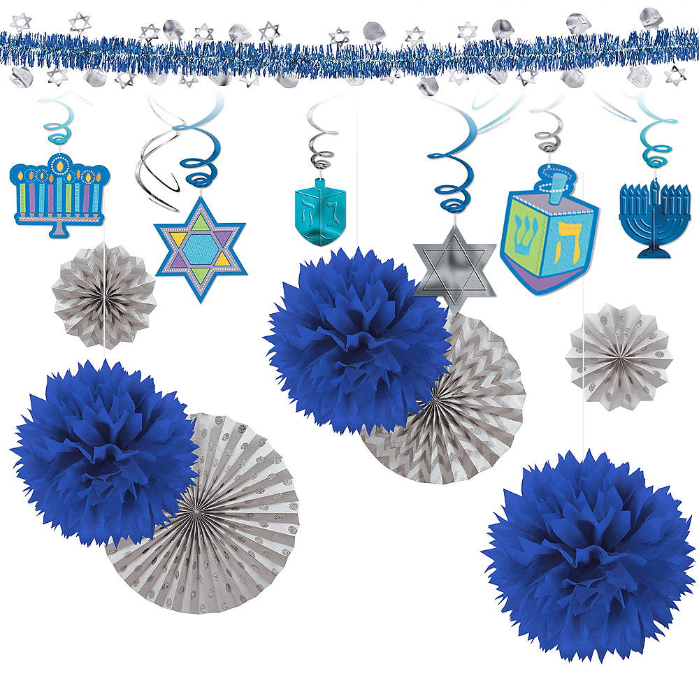 Super Hanukkah Decorating Kit Image #1