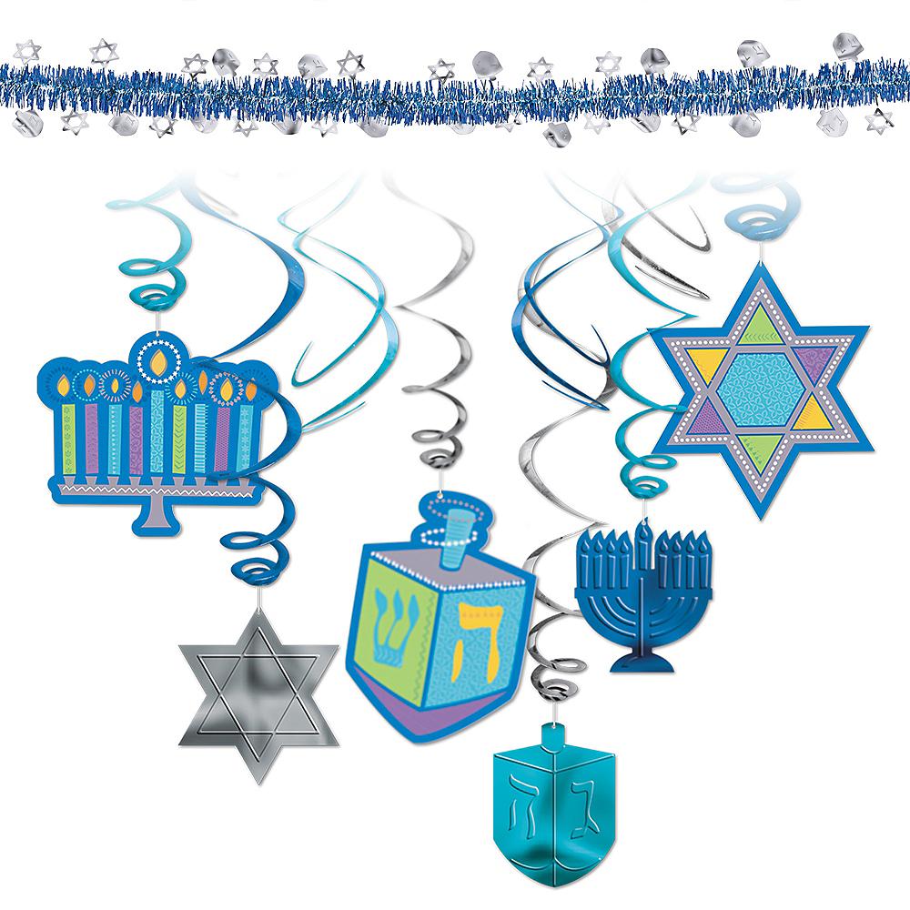 Hanukkah Decorating Kit Image #1