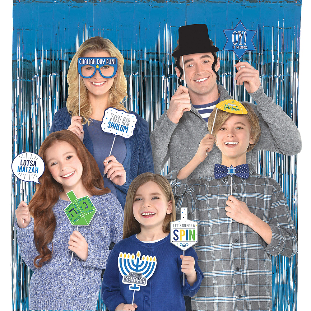 Hanukkah Photo Booth Kit Image #1
