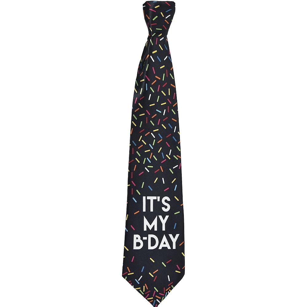 Multicolor Sprinkles Birthday Tie Image #1