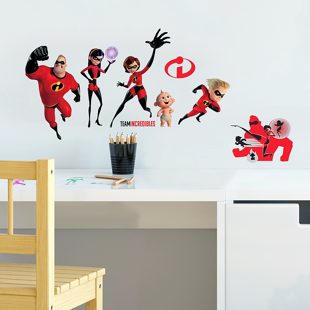 Incredibles 2 Wall Decals 23ct Image #1
