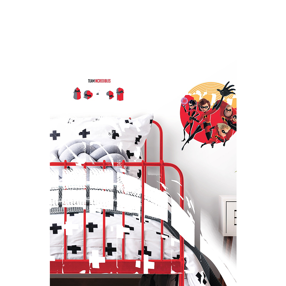 Incredibles 2 Wall Decals 9ct Image #2