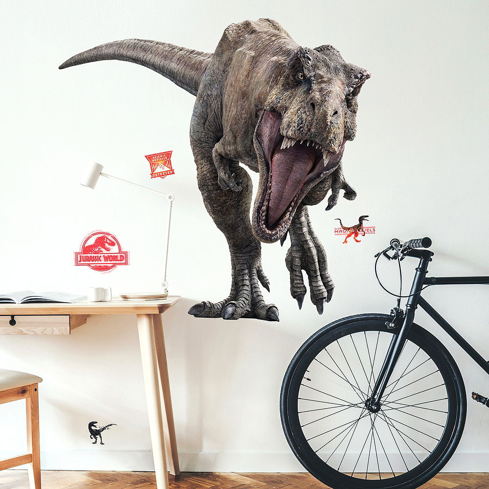 T-Rex Wall Decals 11pc - Jurassic World 2 Image #1