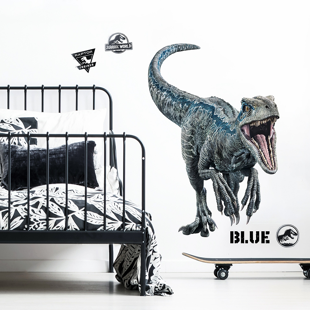 Blue Wall Decals 10pc - Jurassic World 2 Image #1