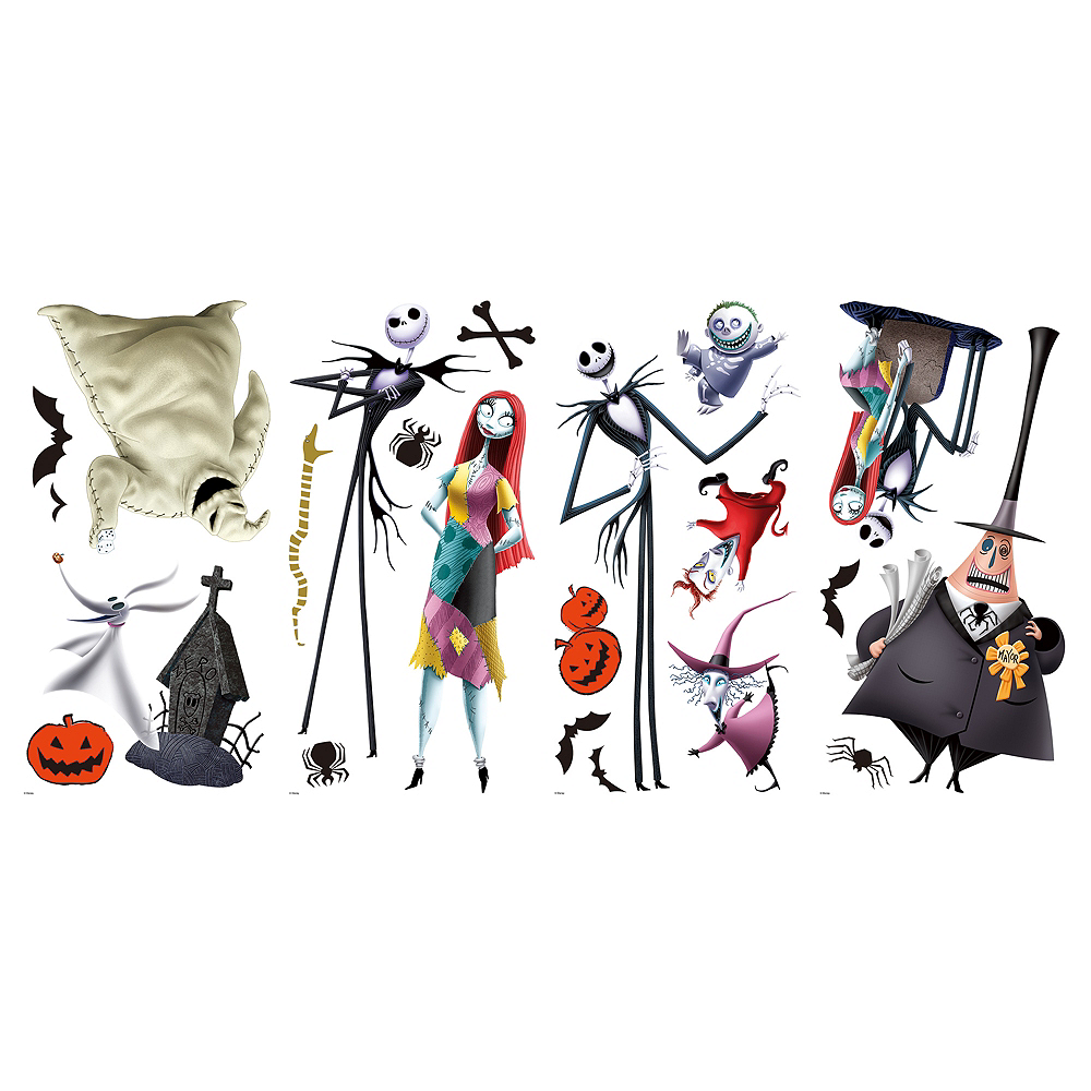 The Nightmare Before Christmas Wall Decals 21ct Image #2