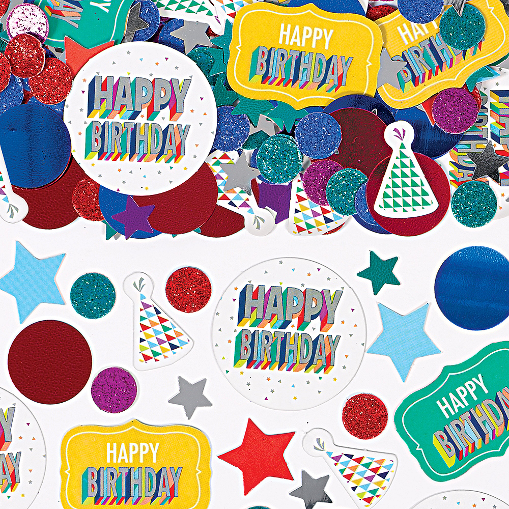 Here's to Your Birthday Confetti Image #1