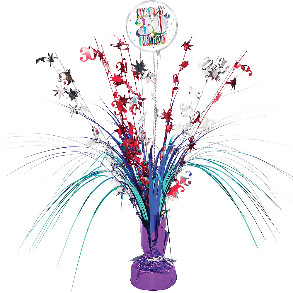 Here's to 30 Birthday Spray Centerpiece Image #1