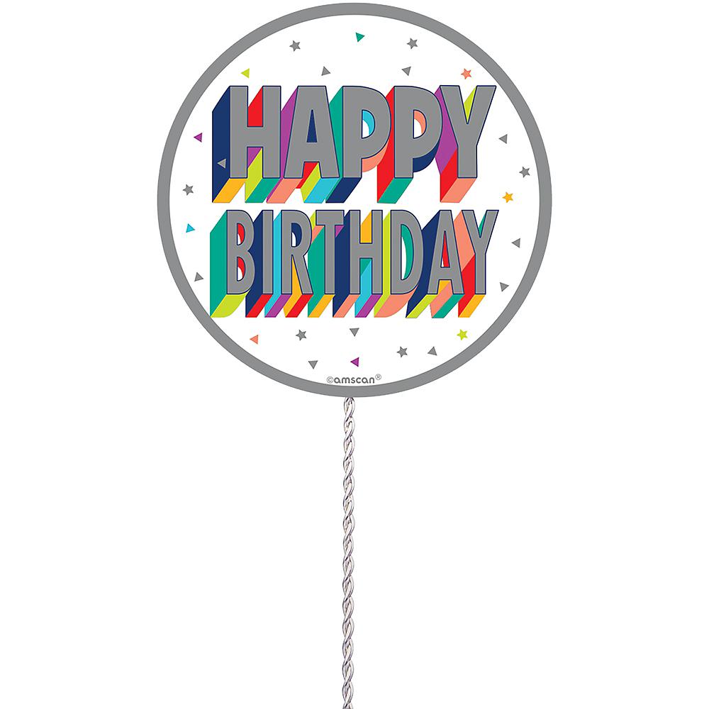 Here's to Your Birthday Spray Centerpiece Image #2