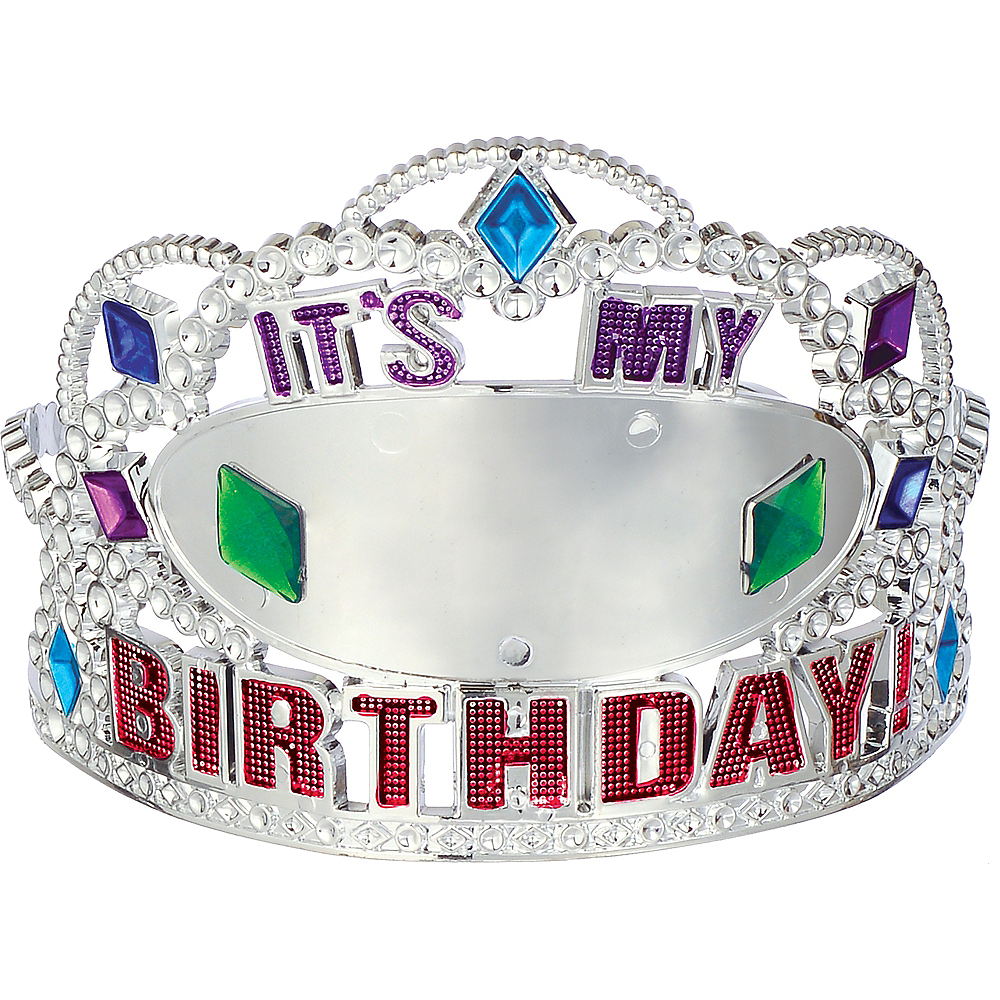 Here's to Your Birthday Tiara Image #1