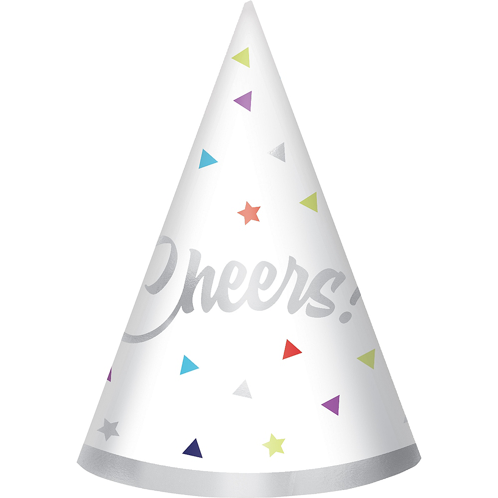 Mini Here's to Your Birthday Party Hats 12ct Image #1