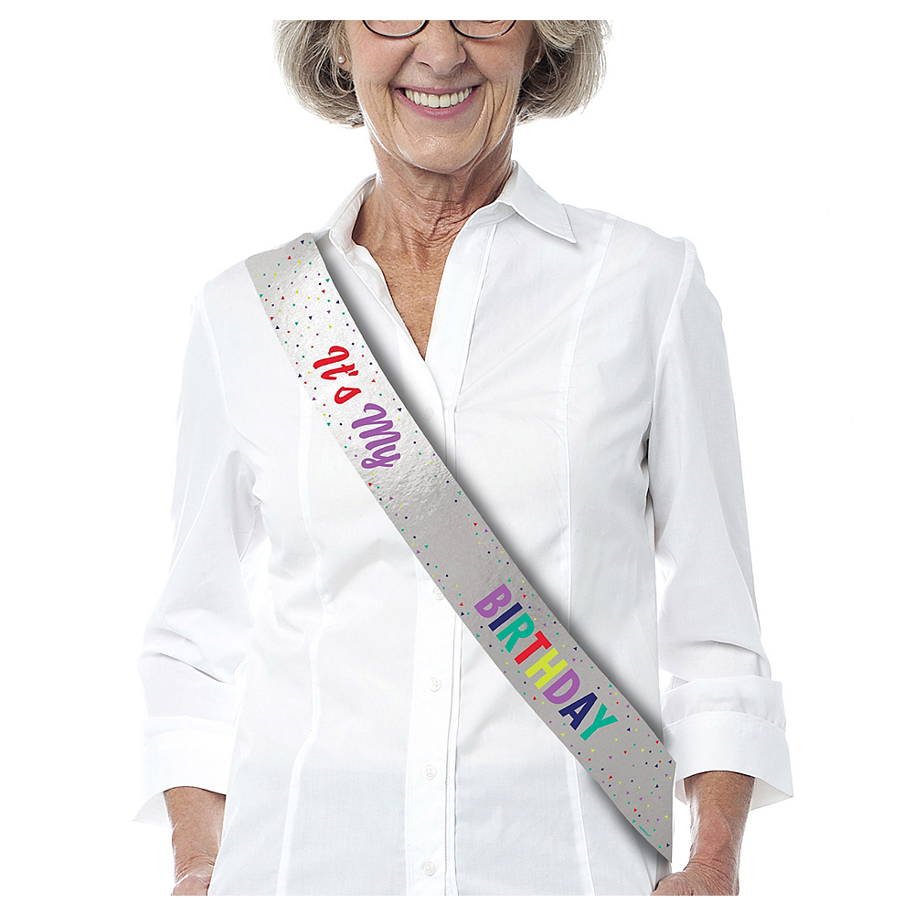 Here's to Your Birthday Sash Kit Image #1