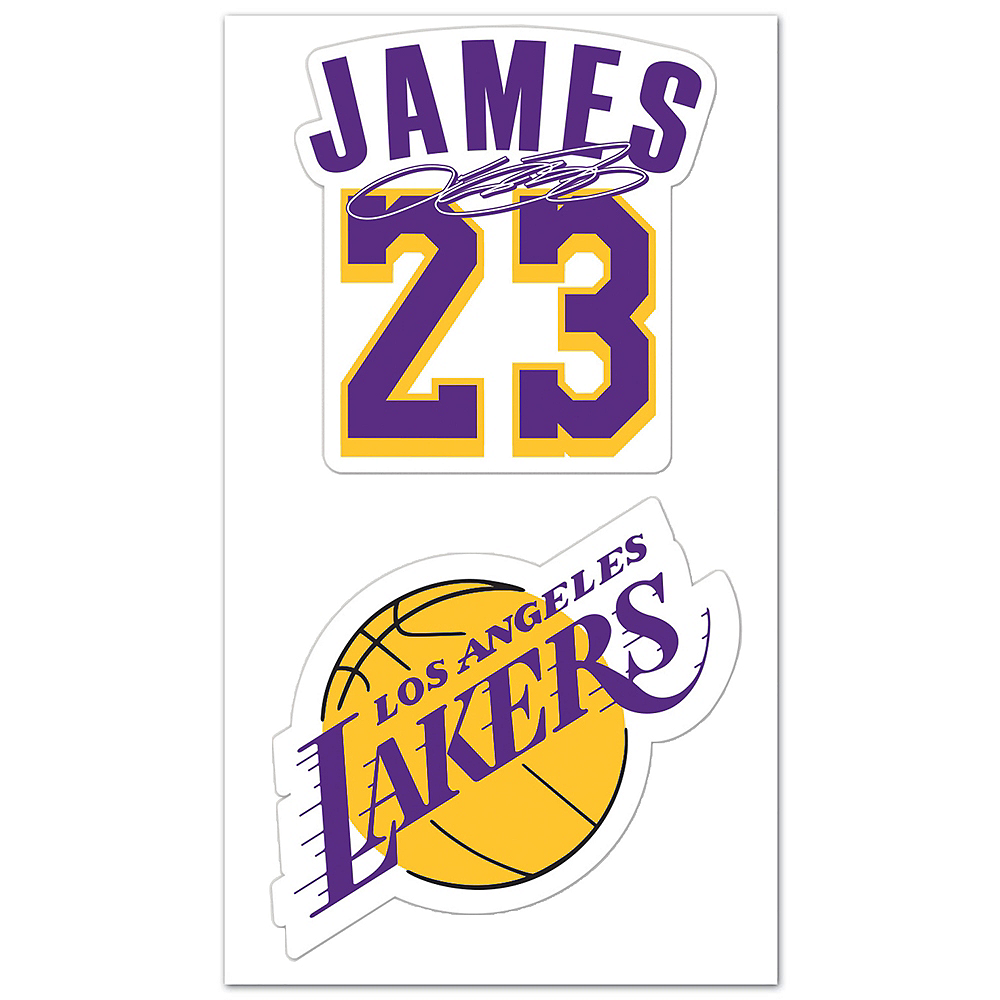 Nav Item for LeBron James Decals 2ct Image #1