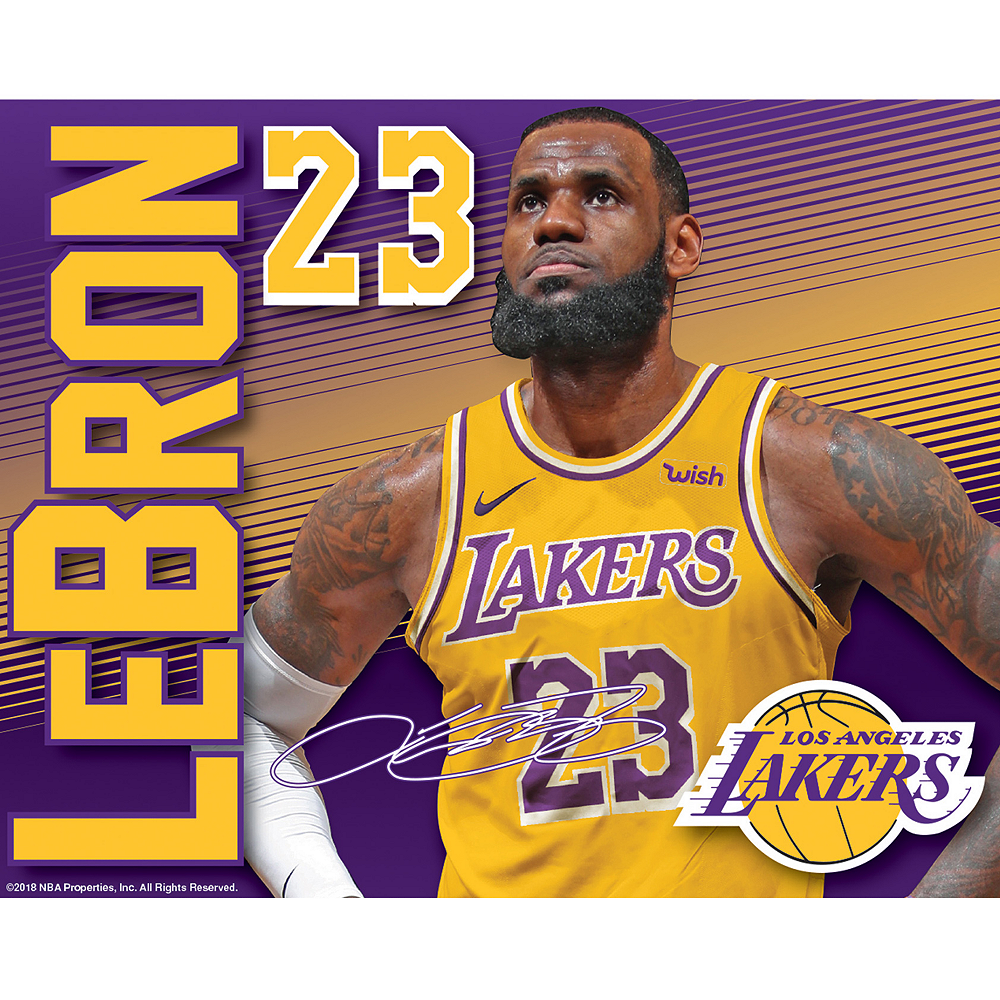 Nav Item for LeBron James Decal Image #1
