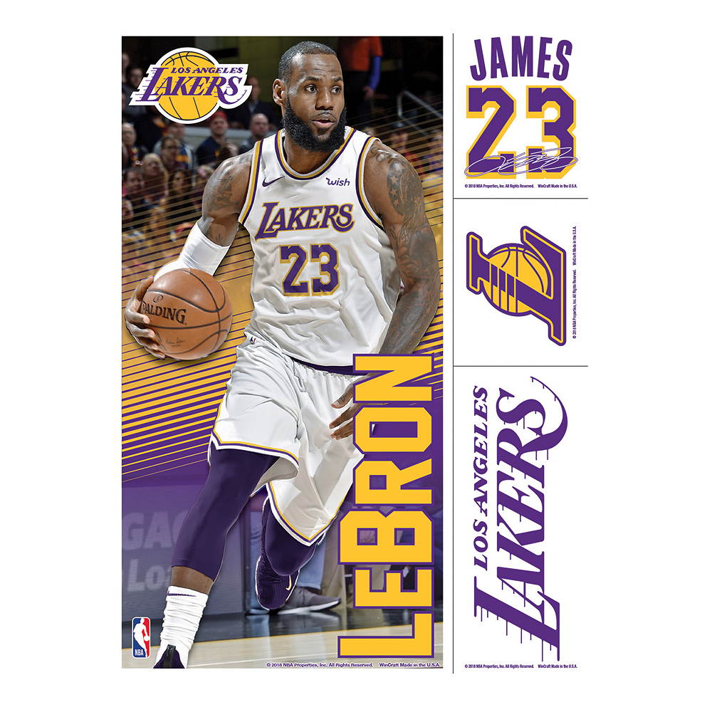 95f29f408e348 LeBron James Decals 4ct Image  1 ...