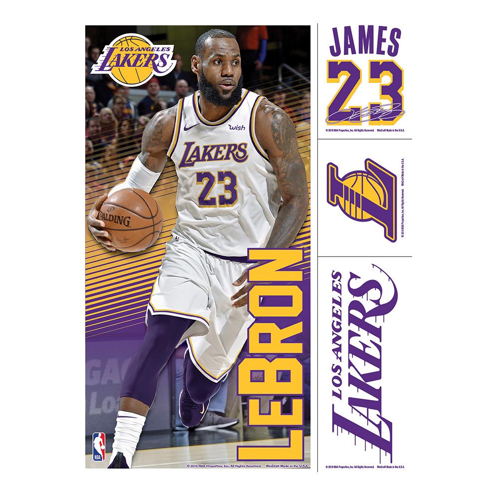 LeBron James Decals 4ct Image #1