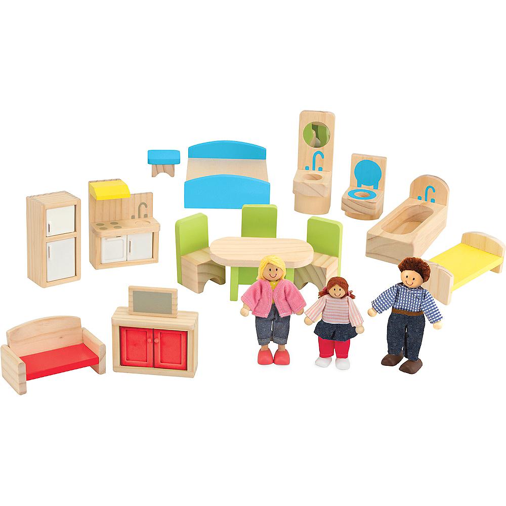 Melissa & Doug Hi-Rise Dollhouse with Furniture Image #3