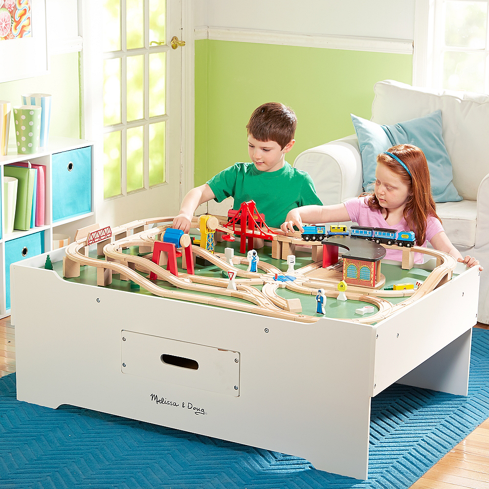 Melissa & Doug Deluxe Multi-Activity Play Table Image #2