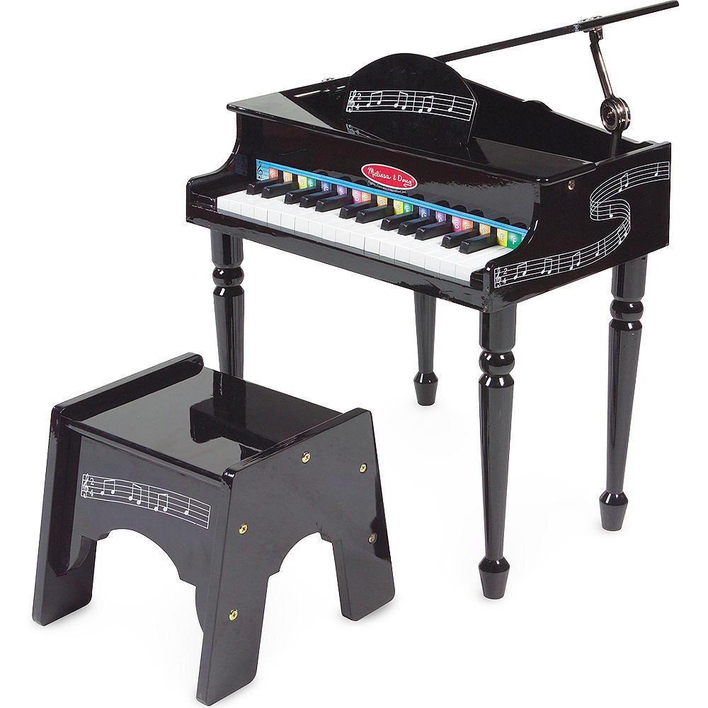 Melissa & Doug Learn-To-Play Classic Grand Piano Set Image #1