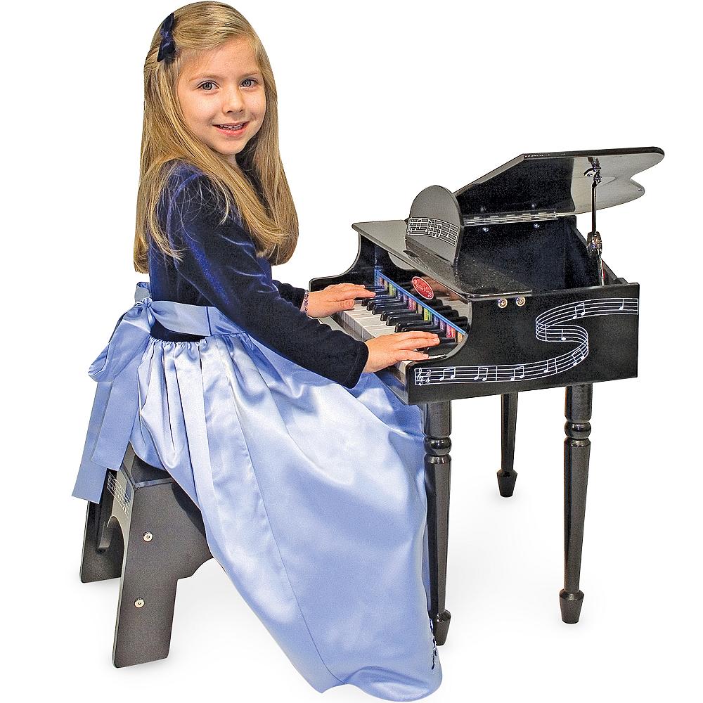 Melissa & Doug Learn-To-Play Classic Grand Piano Set Image #2