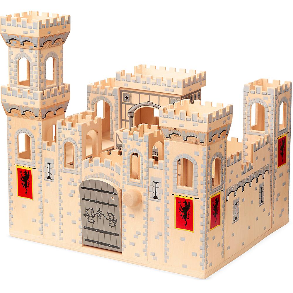 Melissa & Doug Deluxe Folding Medieval Castle Image #1