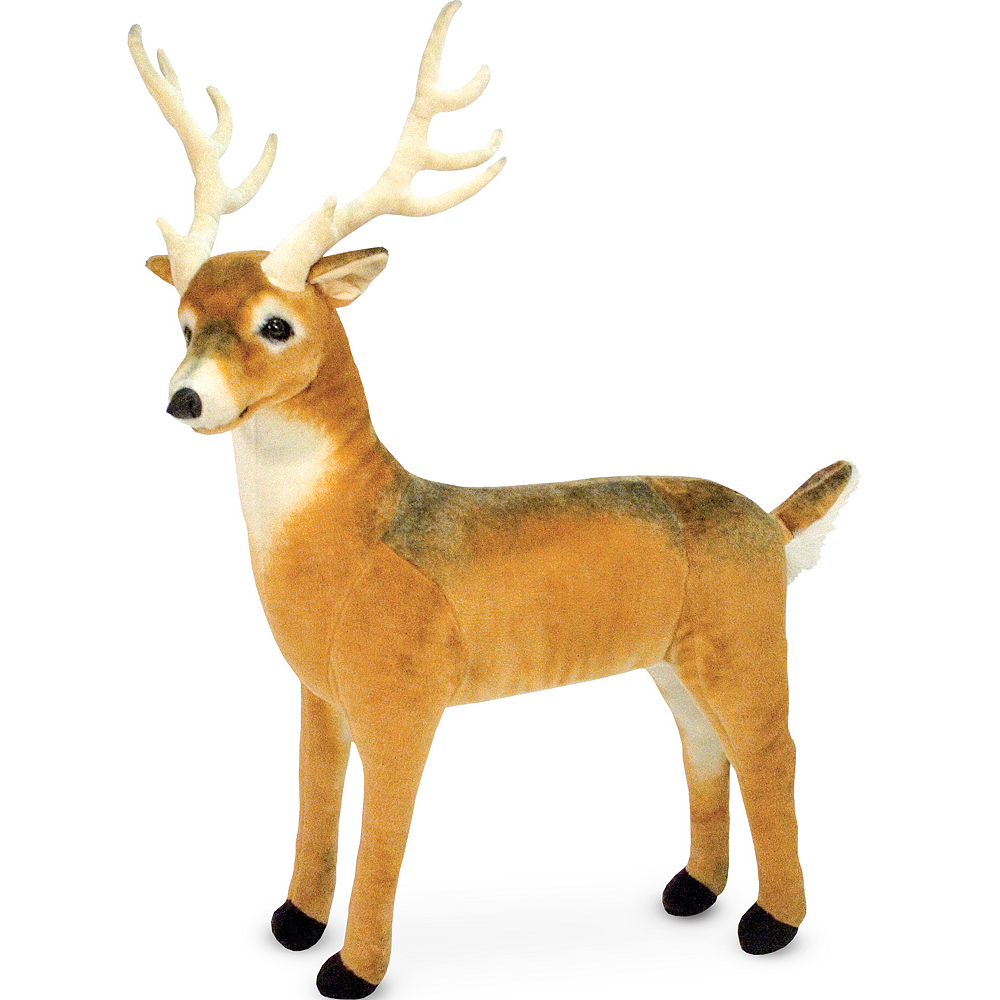 Melissa & Doug Giant Deer Plush Image #1