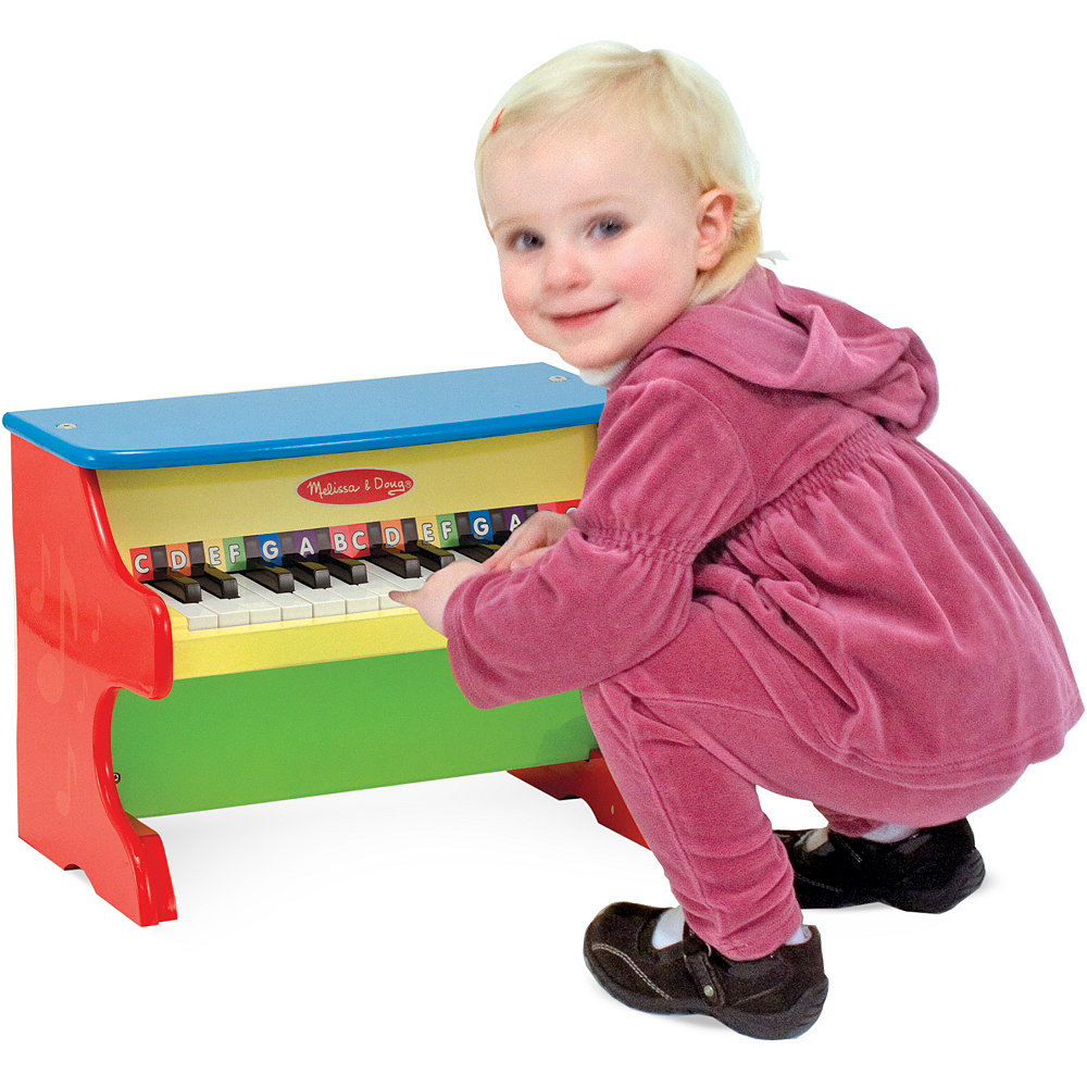 Melissa & Doug Learn-To-Play Piano with Color-Coded Songbook Image #2