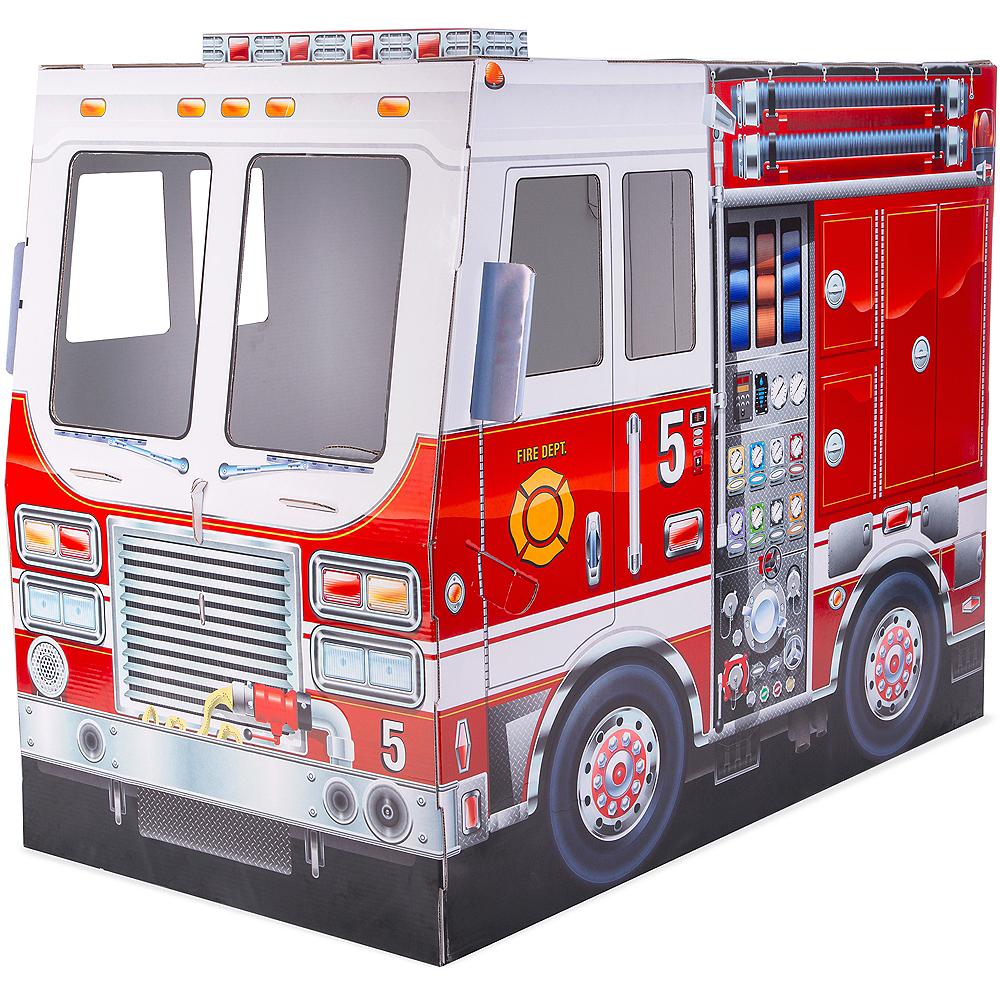 Melissa & Doug Fire Truck Indoor Playhouse Image #1