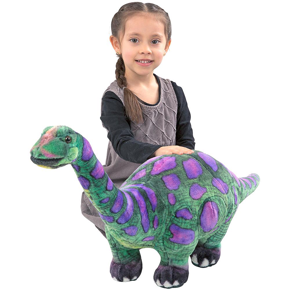 Melissa & Doug Apatosaurus Dinosaur Plush Image #2
