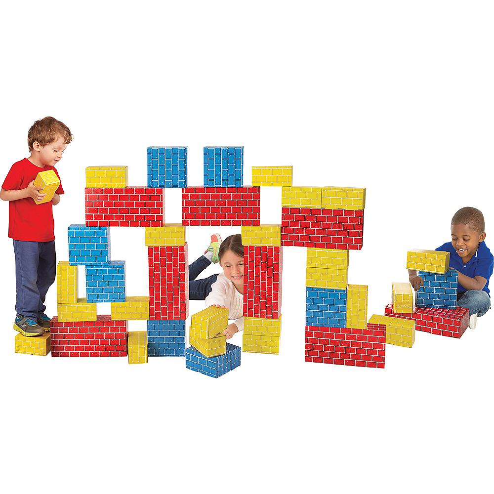 Melissa & Doug Jumbo Cardboard Building Blocks 40pc Image #2