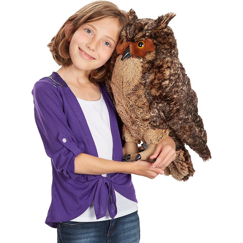 Melissa & Doug Giant Owl Plush Image #2