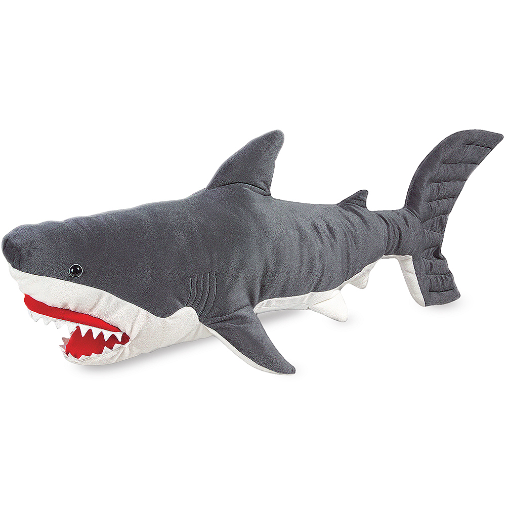 Melissa & Doug Giant Shark Plush Image #1