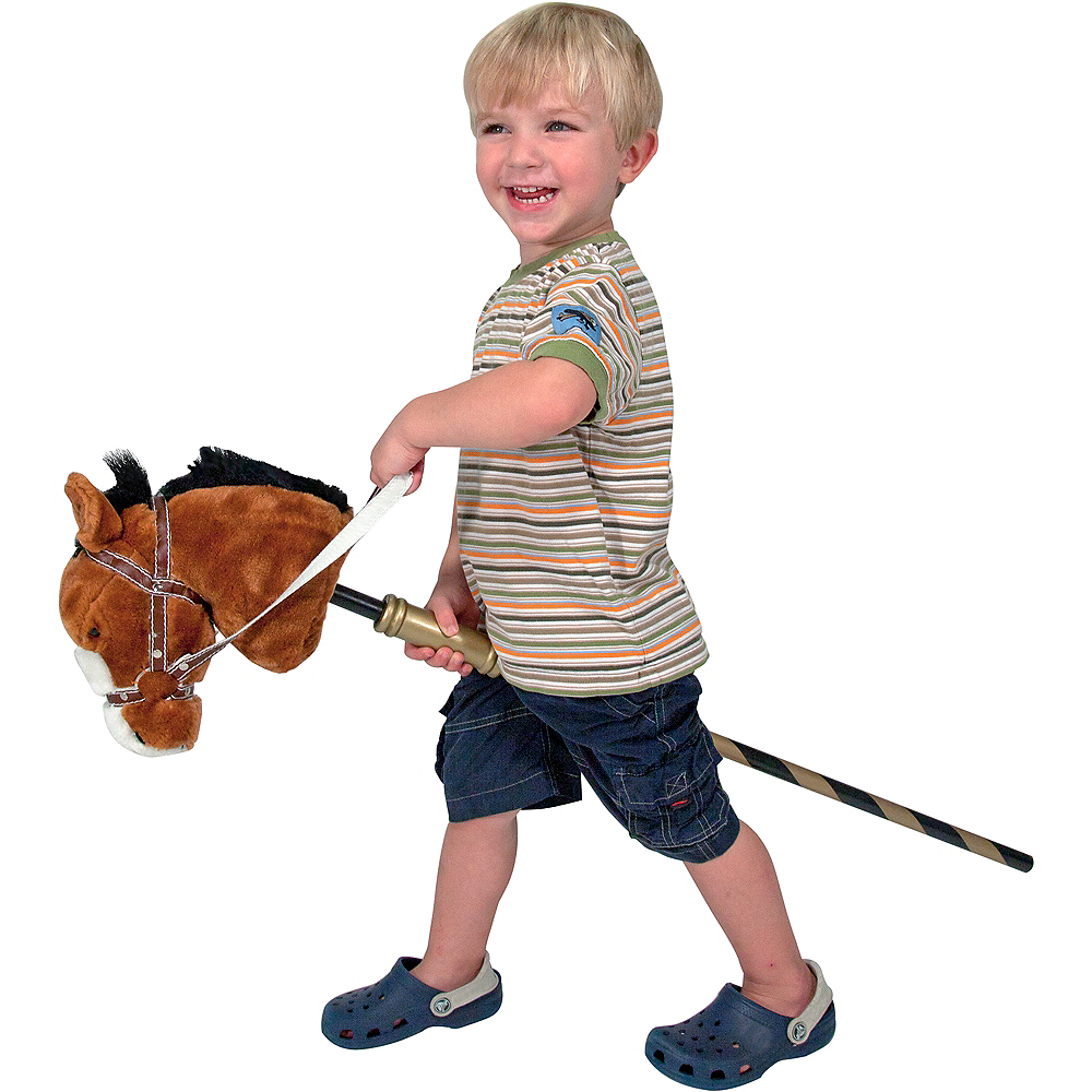 Melissa & Doug Gallop-n-Go Stick Pony with Sound Effects Image #2