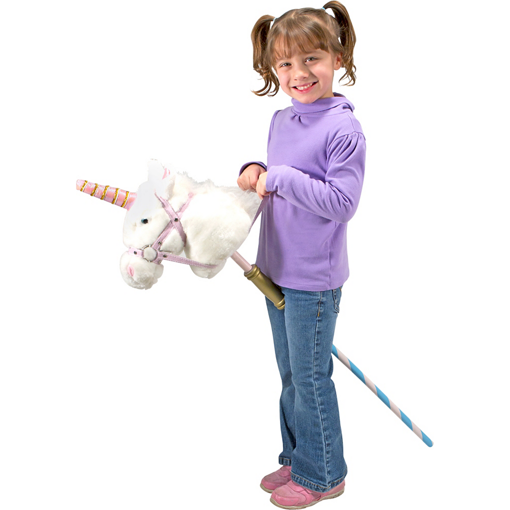 Melissa & Doug Prance-n-Play Stick Unicorn with Sound Effects Image #2