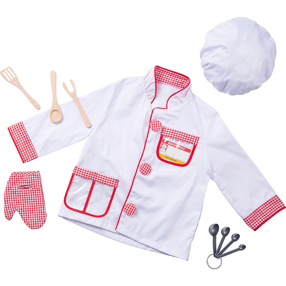 Melissa & Doug Chef Role Play Costume Dress -Up Set Image #1