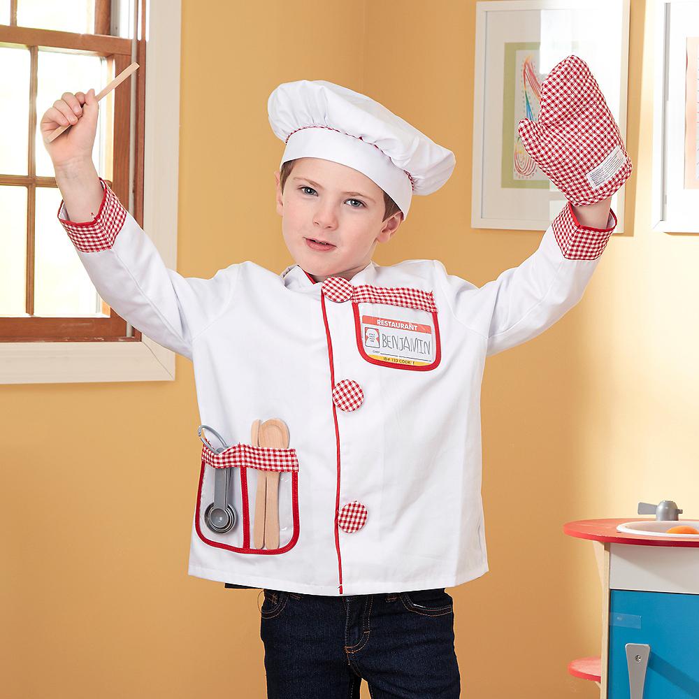 Melissa & Doug Chef Role Play Costume Dress -Up Set Image #2