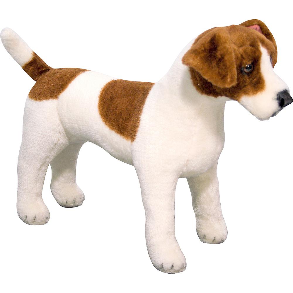 Melissa & Doug Giant Jack Russell Terrier Dog Plush Image #1