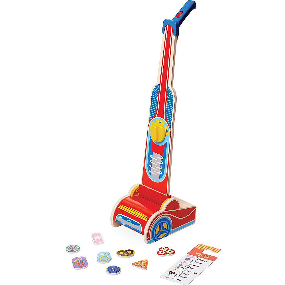 Melissa & Doug Wooden Vacuum Cleaner Play Set 10pc Image #1