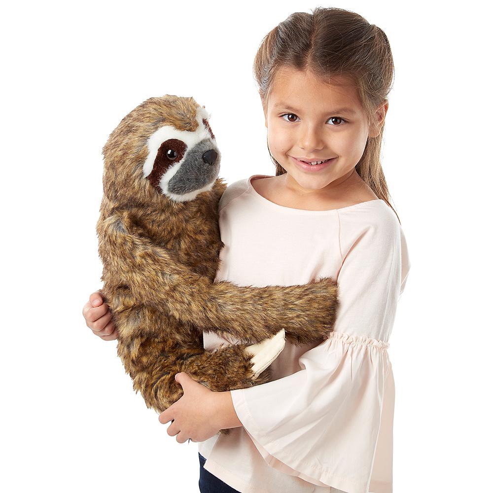 Melissa & Doug Lifelike Sloth Plush Image #2