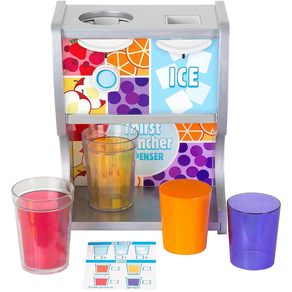 Melissa & Doug Thirst Quencher Drink Dispenser Set 10pc Image #3