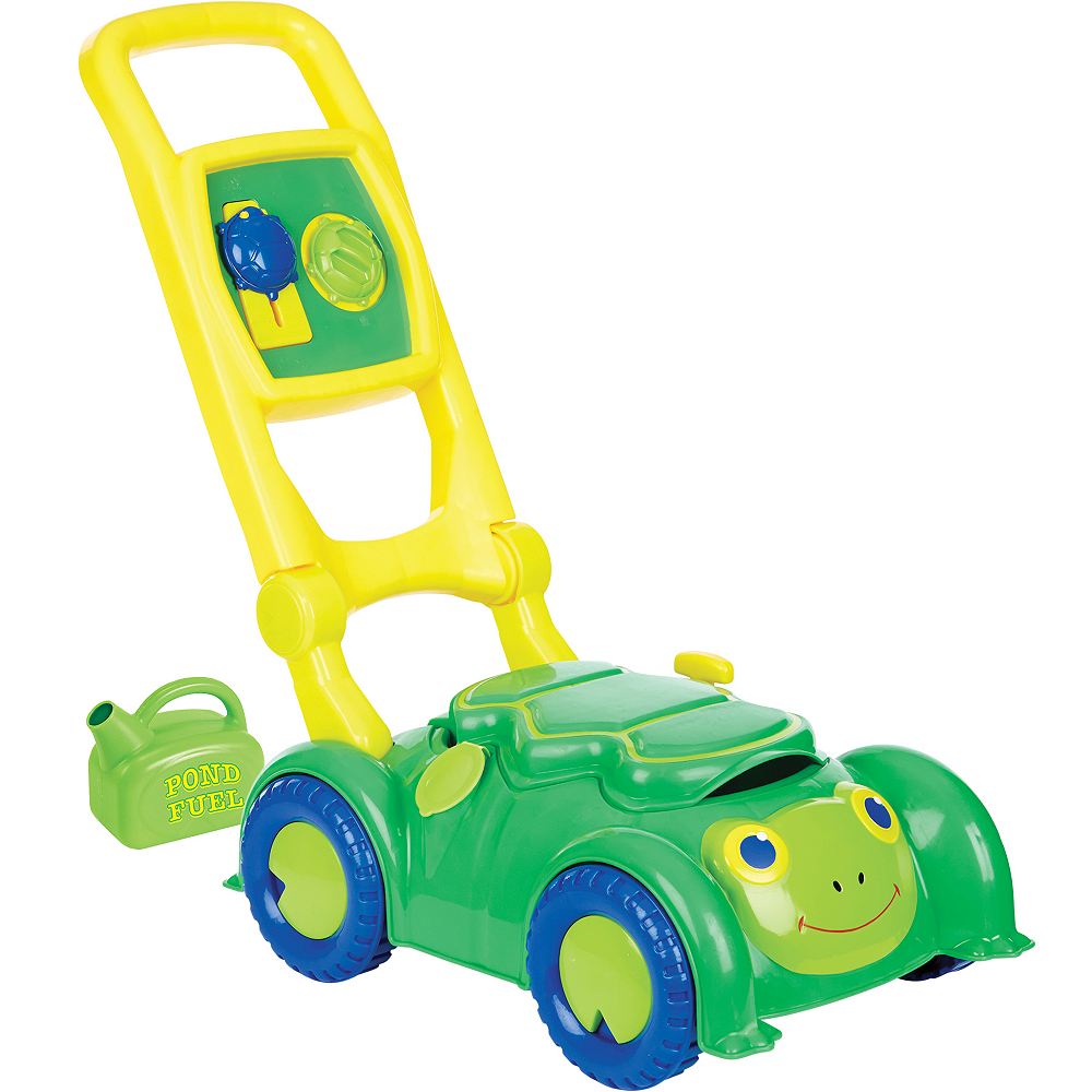 Melissa & Doug Sunny Patch Snappy Turtle Lawn Mower Image #1