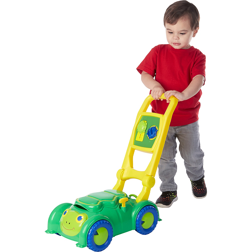 Melissa & Doug Sunny Patch Snappy Turtle Lawn Mower Image #2