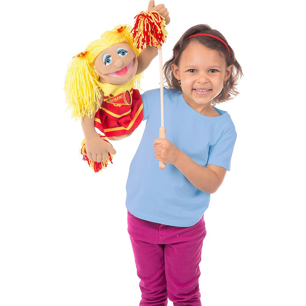 Melissa & Doug Cheerleader Puppet Image #2