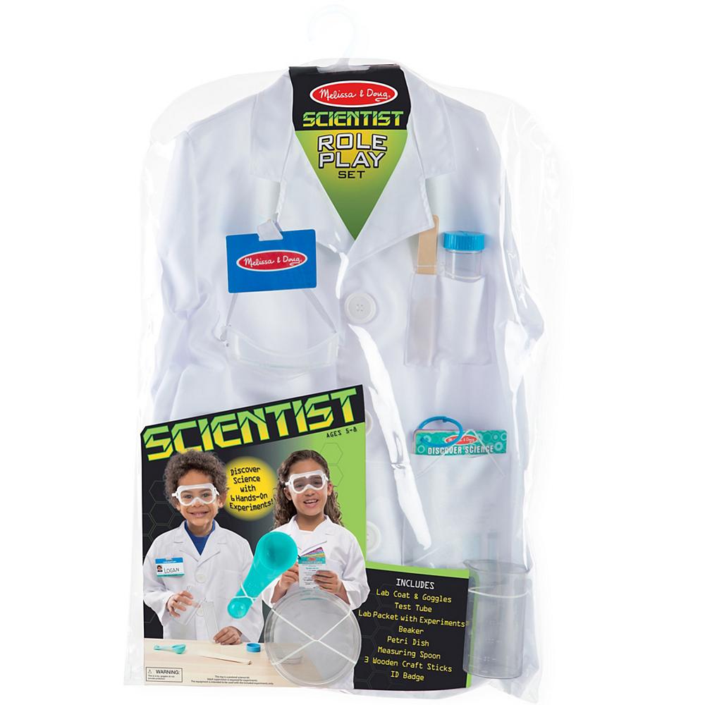 Melissa & Doug Scientist Role Play Costume Set Image #1