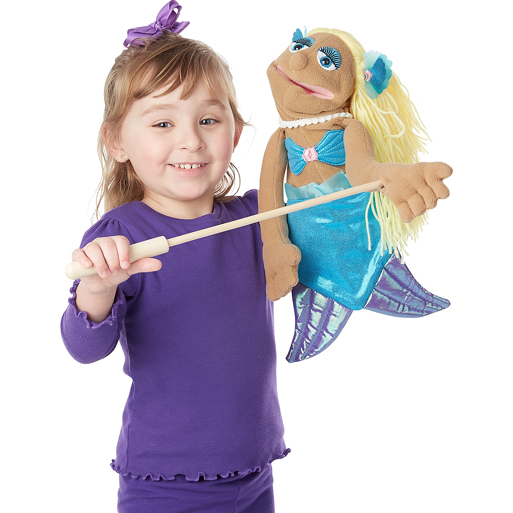 Melissa & Doug Mermaid Puppet Image #2