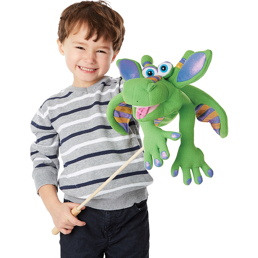 Melissa & Doug Smoulder the Dragon Puppet Image #2