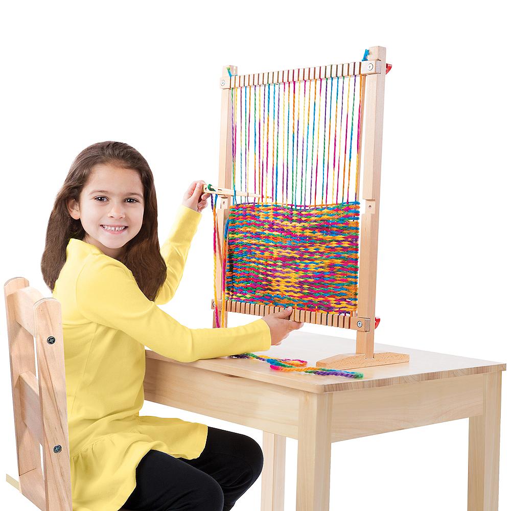 Melissa & Doug Multi-Craft Weaving Loom Image #2