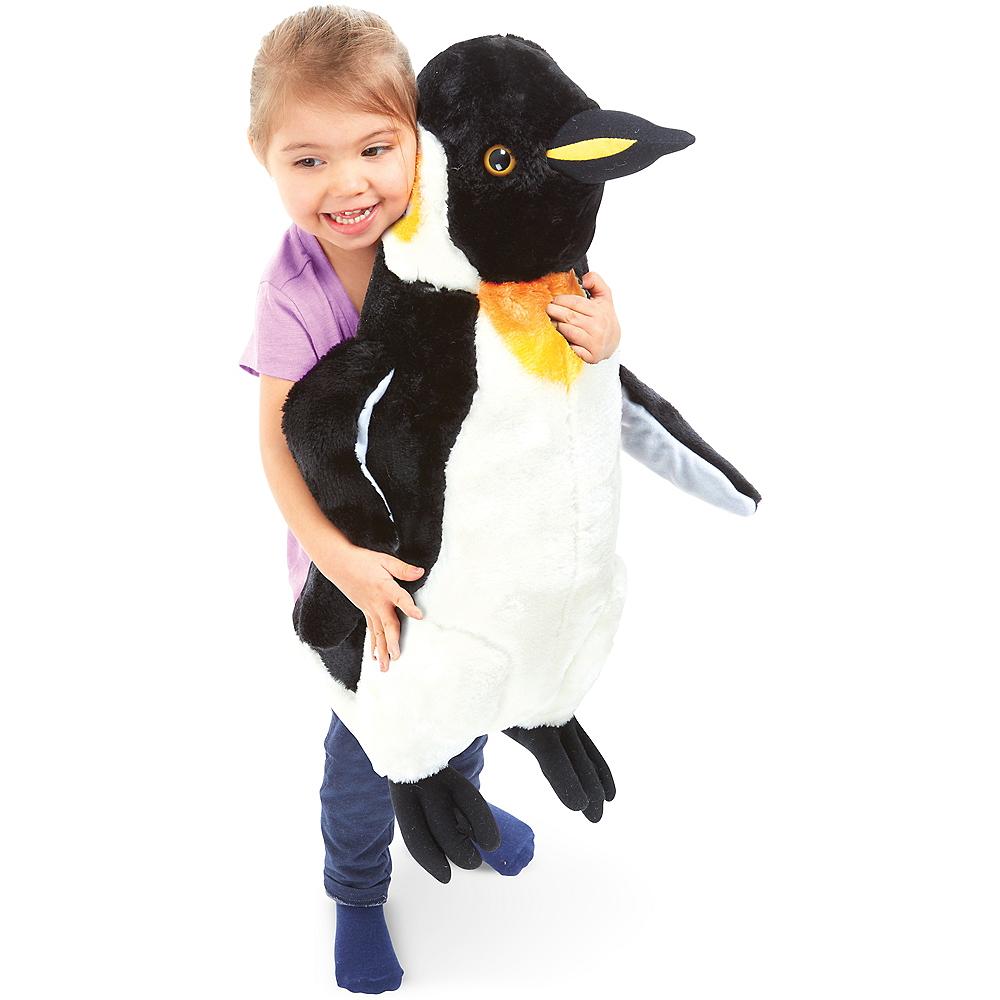 Melissa & Doug Giant Penguin Plush Image #2