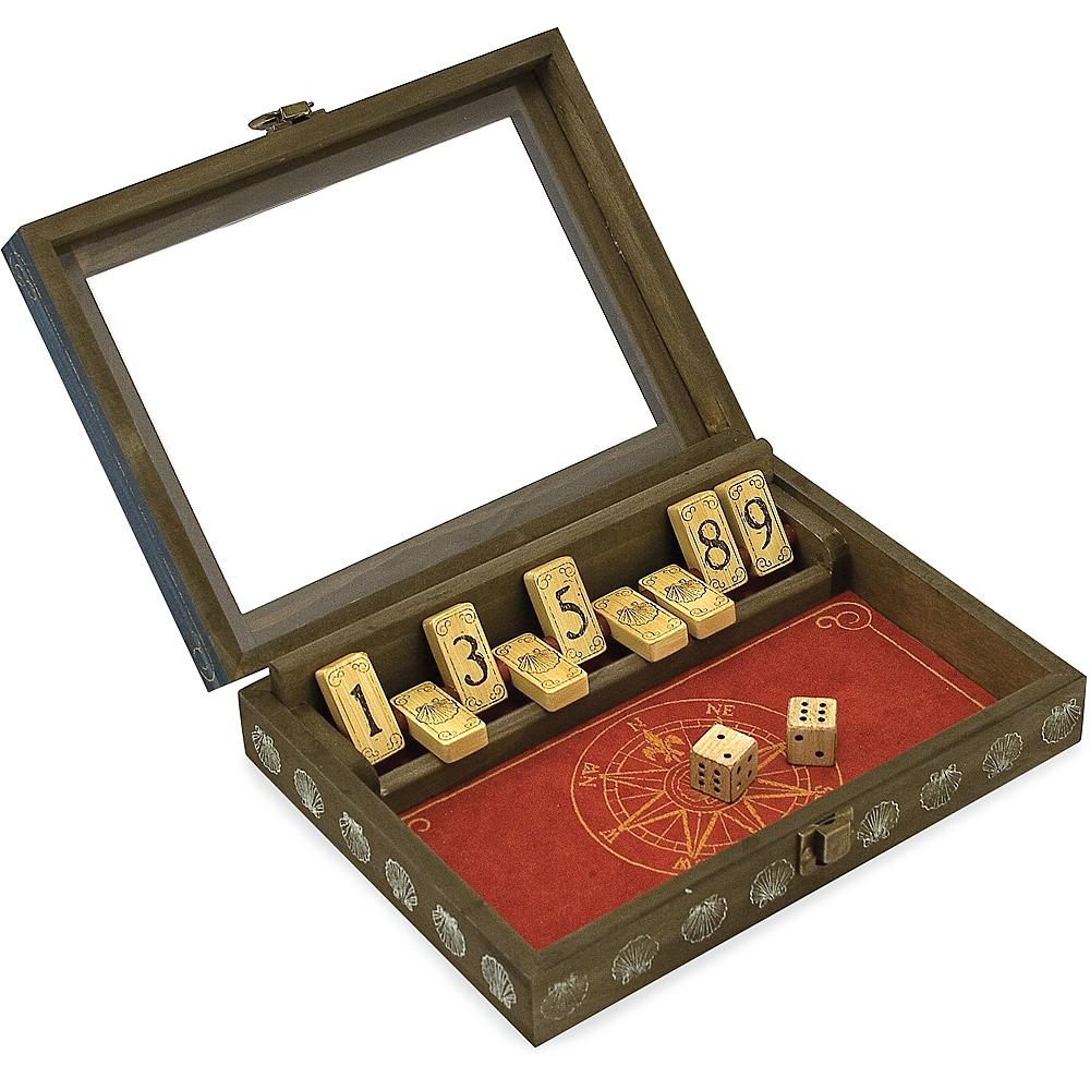 Melissa & Doug Classic Shut-the-Box Game Image #1