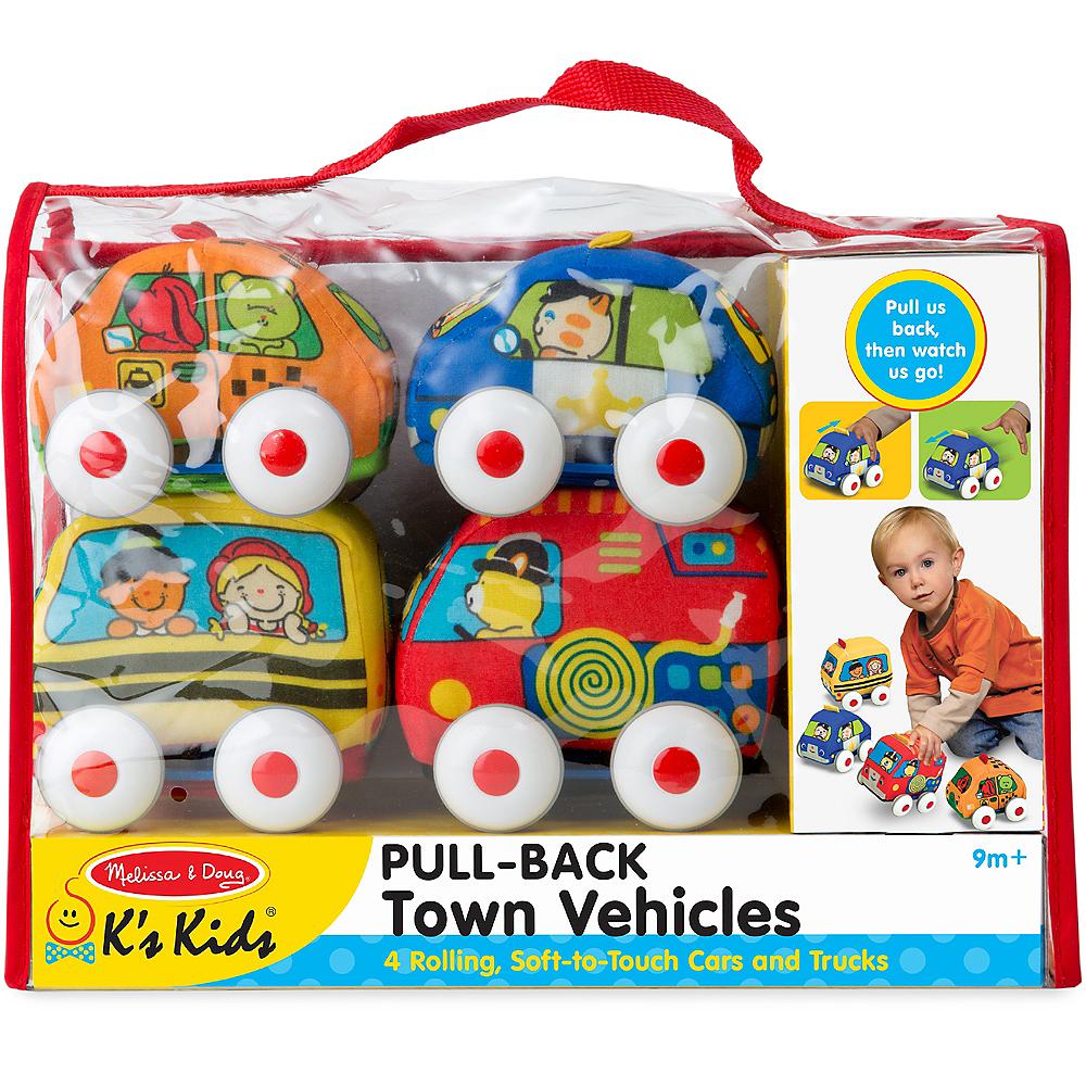 Melissa & Doug K's Kids Pull-Back Vehicle Set Image #1